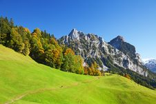 Free Autumn In Swiss Alps Stock Image - 16429041