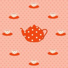 Free Cups And Tea-pot Stock Images - 16429084