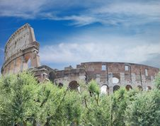 Free Colosseum. Royalty Free Stock Photos - 16429168