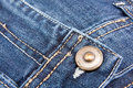 Free Denim Texture Blue With Button Royalty Free Stock Photo - 16436115
