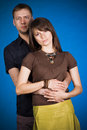 Free Portrait Of A Happy Young Couple Royalty Free Stock Images - 16436929