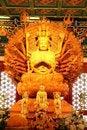 Free Golden Guan Yin Royalty Free Stock Photo - 16438585
