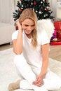 Free Blond Angel Stock Photos - 16439953