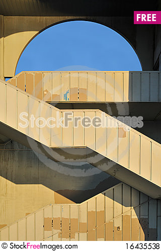 Free Stairs Royalty Free Stock Photos - 16435538
