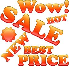 Free Sale Text Stock Photography - 16430102