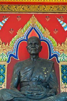 Free Monk Statue Royalty Free Stock Photo - 16431205