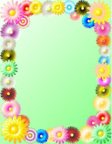 Free Flowers Background Royalty Free Stock Photos - 16431658