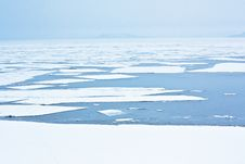 Free Ice On The Sea Stock Photography - 16431712