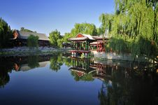 Free Garden  In Beijing  Summer Palace Royalty Free Stock Photography - 16431737