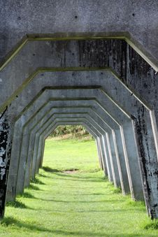 Free Concrete Arches Royalty Free Stock Images - 16431849