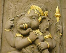Elephant - Headed God Stock Photos