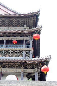 Free Traditional Chinese Buildings Royalty Free Stock Image - 16432506