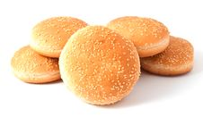Free Buns For Hamburger, Cheeseburger Royalty Free Stock Photos - 16432598