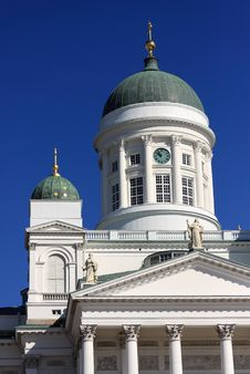 Free Cathedral Dome In Helsinki. Royalty Free Stock Photo - 16433405
