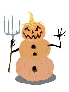 Free Pumpkin Man Stock Images - 16433544