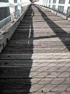 Free Old Timber Foot Bridge Stock Photo - 16433650