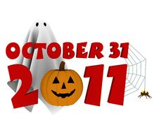 Free Halloween 2011 Royalty Free Stock Images - 16434109