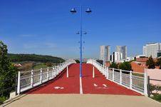 Free Bridge To A New City Stock Image - 16434671