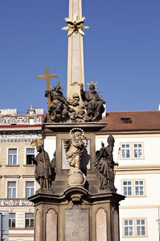 Free Old Memorial In Prague Royalty Free Stock Image - 16434936