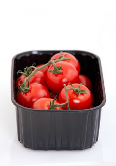 Fresh Cherry Tomato Stock Photography