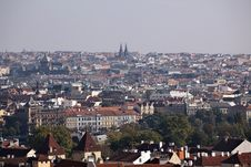 Free The View On The Autumn Prague Royalty Free Stock Photography - 16434977