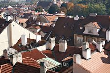 Free Prague Roof Tops Royalty Free Stock Photos - 16434998