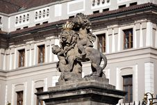 Free Colorful Prague Gothic Castle Stock Image - 16435071