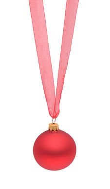Free Red Christmas Bauble Stock Photo - 16435560
