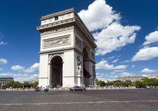 Free Arc De Triomphe, Paris Royalty Free Stock Photos - 16435838