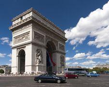 Free Arc De Triomphe, Paris Stock Photography - 16435862