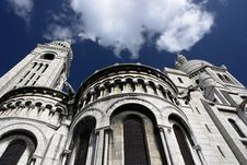 Free Sacre Coeur Tower Royalty Free Stock Photos - 16435998