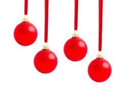 Free Christmas Balls Stock Image - 16436021