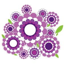 Free Violet Flowers Stock Photography - 16436412