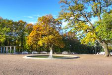 Free Autumn Park View Royalty Free Stock Photography - 16436547