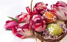 Free Easter Eggs Royalty Free Stock Photography - 16436707