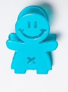 Free Happy Paper Clip Stock Photo - 16436800