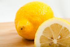 Free Sliced Lemons Stock Images - 16436814