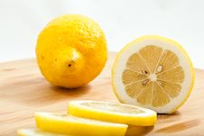 Free Sliced Lemons Stock Image - 16436821