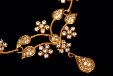 Free Close Of Indian Jewellery. Royalty Free Stock Images - 16437389