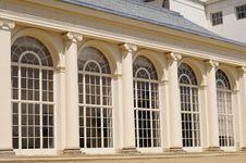 Windows Of Kenwood House From London Uk Stock Image