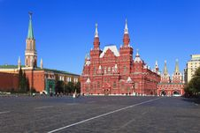 Free Historical Museum On Red Square Royalty Free Stock Photography - 16438657