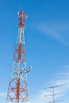 Free Communication Tower Royalty Free Stock Photography - 16439137
