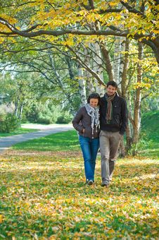 Romantic Young Beautiful Couple Royalty Free Stock Photography
