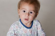 Free Portrait Of A Beautiful Little Boy Royalty Free Stock Images - 16439279