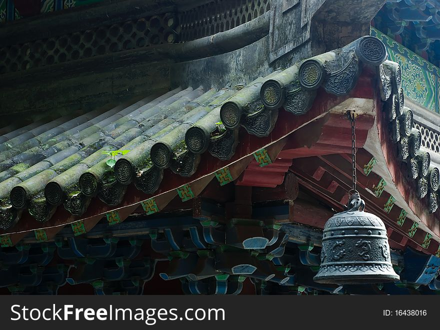 Chinese Roof with Bell