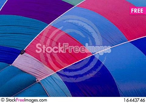 Free Hot Air Balloon Textures Royalty Free Stock Image - 16443746