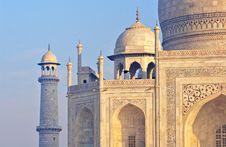 Free Taj Mahal, Agra, India At Front Stock Image - 16440261
