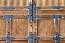 Free Traditional Japanese Door Stock Photos - 16440313
