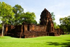 Mueang Sing Historical Park Royalty Free Stock Photos