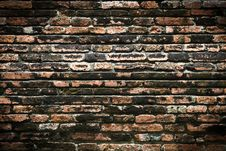 Free Vintage Brick Wall Royalty Free Stock Photography - 16440507